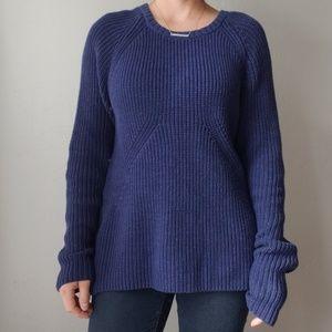 Blue Zippered H&M Sweater